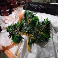 daun bambu plastik/bambu artificial