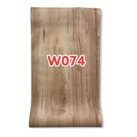 W74 Wallpaper Dinding Motif kayu - Wallpaper Sticker Motif Wood
