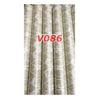 V86 Wallpaper Dinding - Wallpaper Sticker Vintage Biru