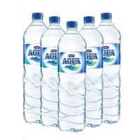 Aqua Air Mineral Botol Besar Gede 1500ml 1500 ml per Dus Karton