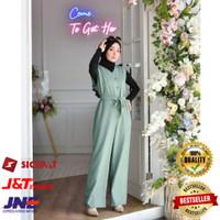Baju Gamis Wanita Muslim Cantik Terbaru Raquel Jp Jumpsuit Termurah