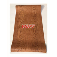 W77 Wallpaper Dinding Motif kayu - Wallpaper Sticker Motif Wood