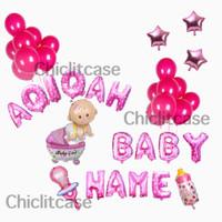 Paket set balon Dekorasi baby aqiqah tasyukuran kelahiran boy girl