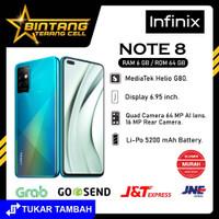 INFINIX NOTE 8 RAM 6 64 GAMING GARANSI RESMI