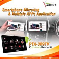 asuka pta 309 9 garansi resmi PTA-309 9inch with TV
