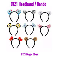 Bando BT21 (headband hiasan rambut BTS BT21)