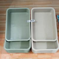 Grosir Bak warna soft Hydroponik / Bak pasir kucing Besar