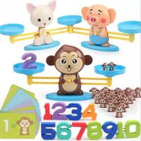 Mainan anak edukasi Balance Game - timbangan anak belajar berhitung