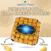 Krisma Food Nastar Gulung Nanas Edam Cheese Cookies