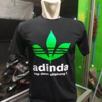 baju kaos adinda / kaos cap daun singkong / kaos preman pensiun
