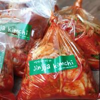 jinjja Kimchi 1Kg fresh hand made asli buatan orang korea