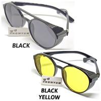 Kacamata Bikers / Riding / Motor LV Bulat Sunglasses | Kacamata Sayap