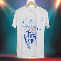 Kaos/T-shirt Superhero Kaos Dewasa Casual