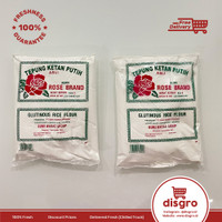 Tepung ketan putih rose brand 500 gr tepung ketan rosebrand 500gr