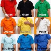 kaos polo shirt anak