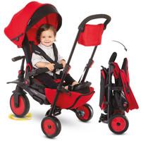 SmarTrike STR7 8 in 1 stroller + tricycle - Merah