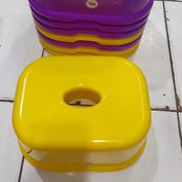 Bangku Jongkok Segi KH Plastik / Anak / Pendek / Kursi / Duduk / Kecil