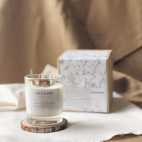 Reise - Glass 200ml   soy scented candle aromatherapy   HAVANA