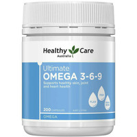 healthy care ultimate omega 3 6 9 200 caps myprotein omega 369