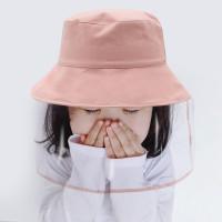 Topi anti corona topi balita dengan pelindung plastik face shield