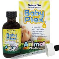 natures plus baby plex multivitamin liquid cair orange flavor 60ml