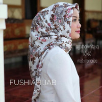 Jilbab Segi Tiga Instan Monalisa Rose/ Jilbab Instant