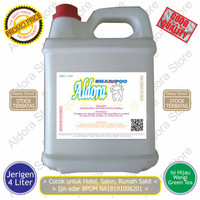 Shampoo Literan / Shampoo Rambut / Shampo Hotel / Shampoo Jerigen 4L