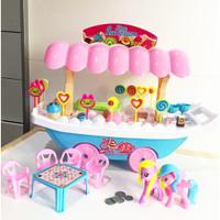 Mainan Gerobak Es Krim Jumbo - Troli Ice Cream Besar Anak Edukatif