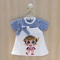 Baju Bayi Perempuan Bayu Cewek (3 bulan - 2,5 tahun) Dress Bayi Cewek