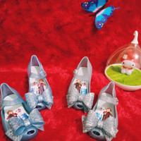 Sepatu Anak Mini Melissa Ultragirl Frozen, Jelly Shoe Minimelissa