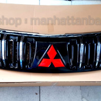 Aksesoris Mobil - Grill Depan All New Pajero Sport Black - Chrome