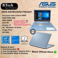 ASUS A407MA-BV421T/BV422T/INTEL CELERON N400/4GB/256GB/14HD/WIN10HOME