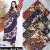 Gamis rayon murah / daster batik ecer / longdres batik /daster panjang