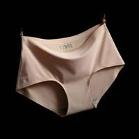 Celana Dalam Wanita Seamless tanpa jahitan M / L / XL - Beige, L