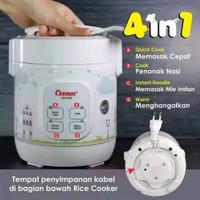 Cosmos digital rice cooker mini 4in1 magic com travel CRJ-1031