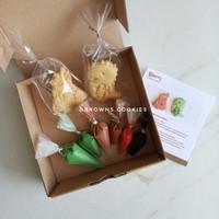 Character Cookies DIY Decorating Kit / Kue Kering Hias Dinosaurus Anak