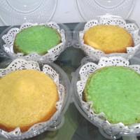 kue Bika Ambon original dan pandan