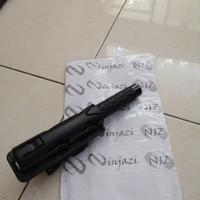 Tactical BATON -- 511 solid steel - grip karet + holster