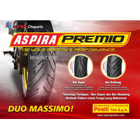 BAN ASPIRA PREMIO 90/90-14 SPORTIVO/FREE PENTIL TUBLES