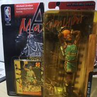 Michael Jordan Green Shirt USA All-Star MVP Figure Air Maximum
