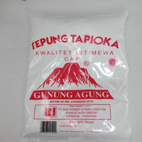 tepung tapioka cap gunung agung 500 gr