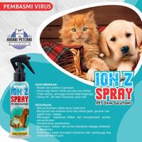 ION Z Spray basmi virus,Jamur, Scabies,luka pada kucing anjing kelinci