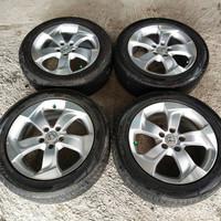 Velg Mobil Oem Honda HRV Ring 17 pcd 5×114 + Ban Dunlop 215-55