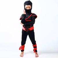 Kostum ninja anak import cosplay assassin superhero jepang baju