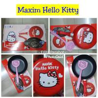 Maxim Hello Kitty 24cm Frypan Wajan Teflon & Spatula