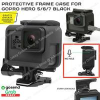 GoPro Hero 5 6 7 Black Protective Frame Mount Case Shockproof Bumper