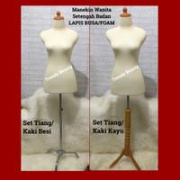 Patung Baju Wanita Lapis Busa