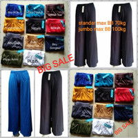 PROMO 3 pcs Celana Kulot Wanita/spandex Tebal, adem, nyaman dipakai