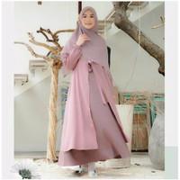 Gamis Syari Terbaru Dress Muslimah Modis Dress Syari Mufida