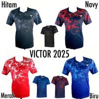 BAJU VICTOR 2025 IMPORT BAJU BADMINTON VICTOR JERSEY BULUTANGKIS G.O